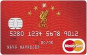 Liverpool FC MasterCard kredittkort