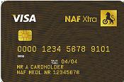 NAF Xtra kredittkort