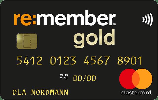 re:member gold kredittkort